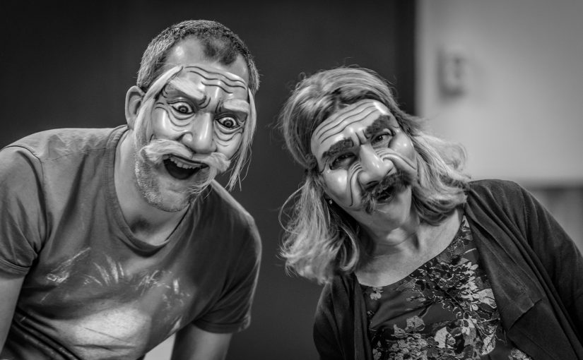 Masks of Bali, acting workshop Potsdam/Berlin